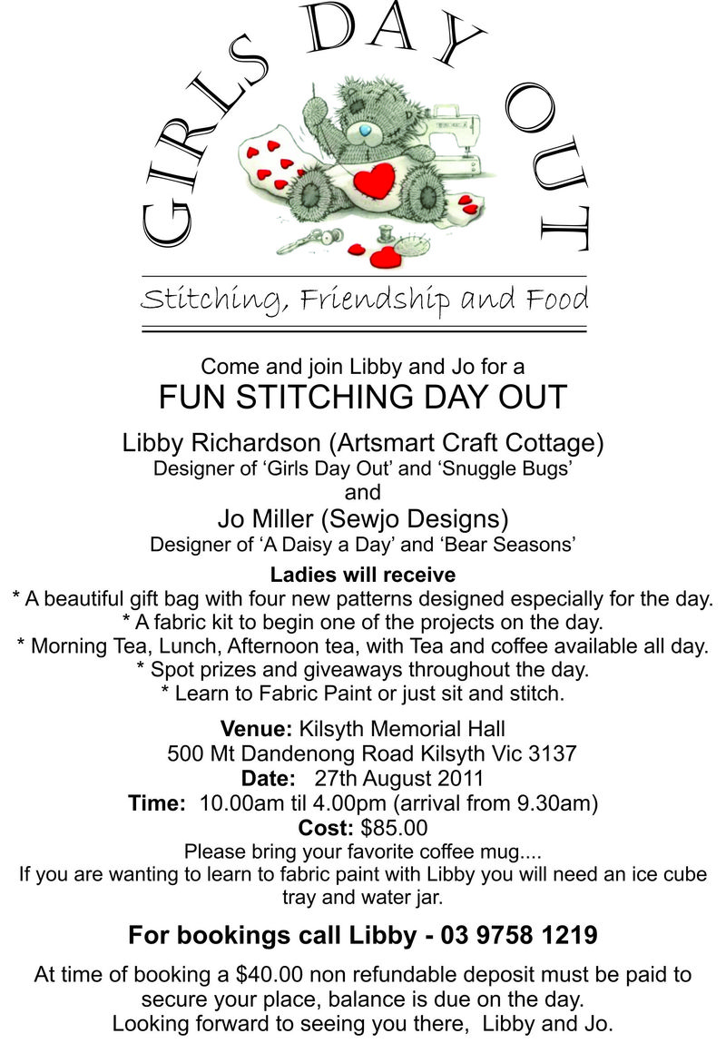 Girls day out flyer