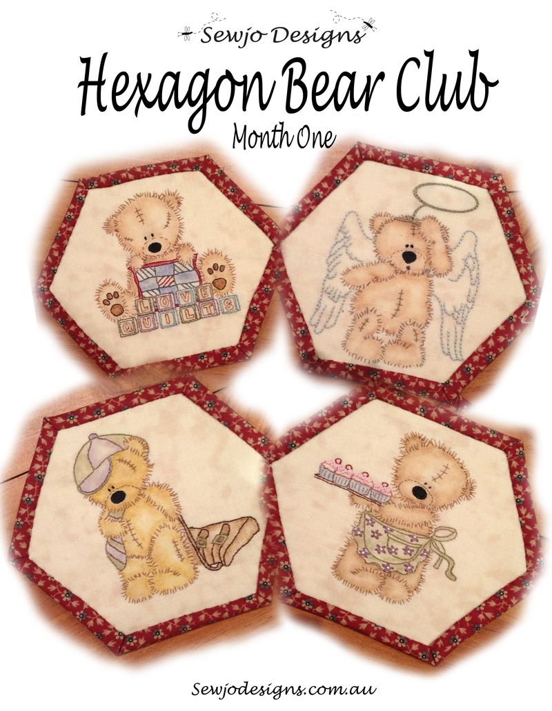 Bear Club Month 1Cover